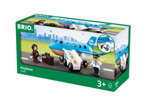 BRIO set aeroplano con scala imbarco BRIO Unisex 12-36 Mesi, 3-4 Anni, 3-5 Anni, 5-7 Anni, 5-8 Anni ALTRI