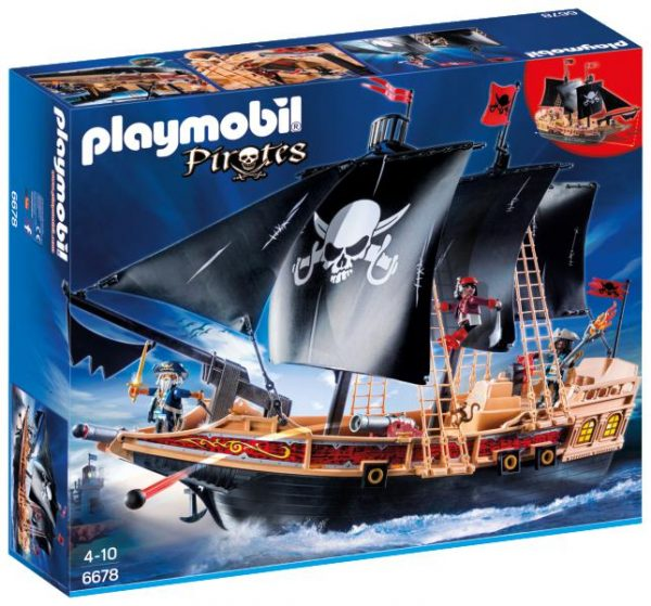 6678 - GALEONE DEI PIRATI Playmobil Pirates Maschio 3-5 Anni, 5-8 Anni ALTRI
