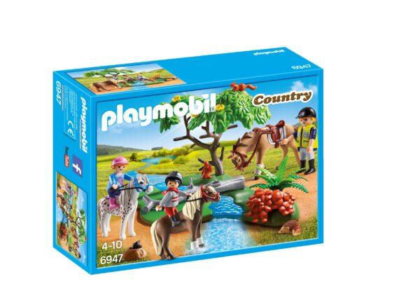 Gita con i Pony PLAYMOBIL - COUNTRY Unisex 3-4 Anni, 3-5 Anni, 5-7 Anni, 5-8 Anni, 8-12 Anni ALTRI