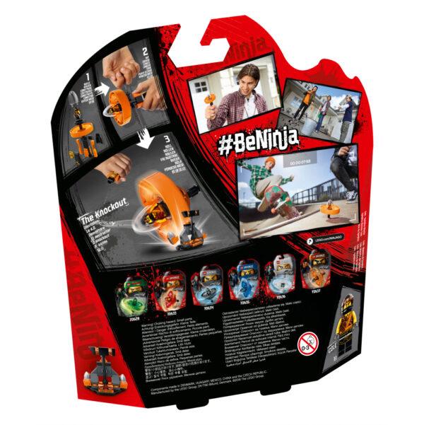 70637 - Cole - Maestro di Spinjitzu - Lego Ninjago - Toys Center ALTRI Maschio 12+ Anni, 5-8 Anni, 8-12 Anni LEGO NINJAGO