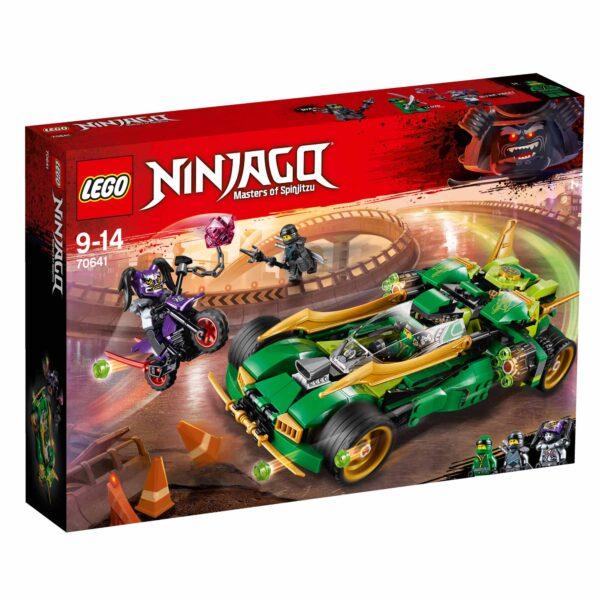 70641 - Nightcrawler Ninja - Lego Ninjago - Toys Center LEGO NINJAGO Maschio 12+ Anni, 8-12 Anni ALTRI