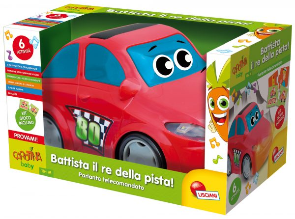 Carotina Battista Re della Pista - Carotina - Toys Center - CAROTINA - Fino al -20%