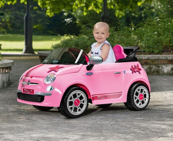 FIAT 500 STAR - Fiat - Toys Center Peg Perego Femmina 12-36 Mesi, 3-5 Anni, 5-8 Anni ALTRI