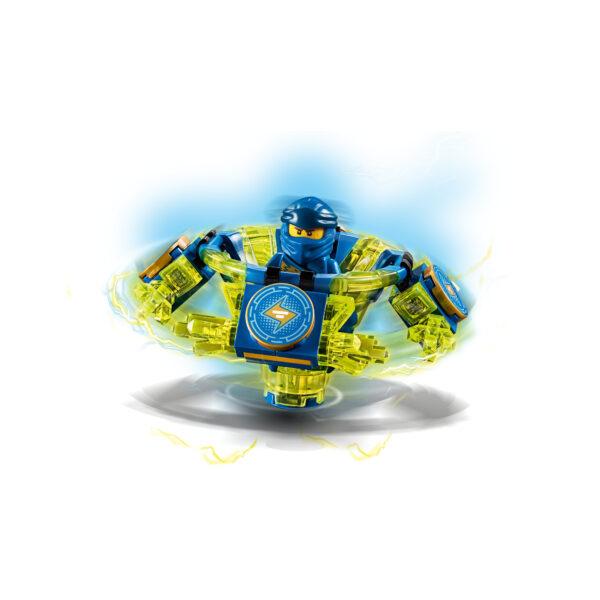 LEGO NINJAGO ALTRI 70660 - Jay Spinjitzu - Lego Ninjago - Toys Center Unisex 12+ Anni, 5-8 Anni, 8-12 Anni