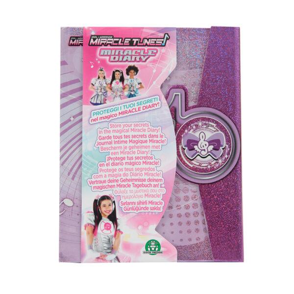 Giochi Preziosi - Miracle Tunes Diario Segreto - Altro - Toys Center ALTRI Femmina 3-5 Anni, 5-8 Anni, 8-12 Anni ALTRO