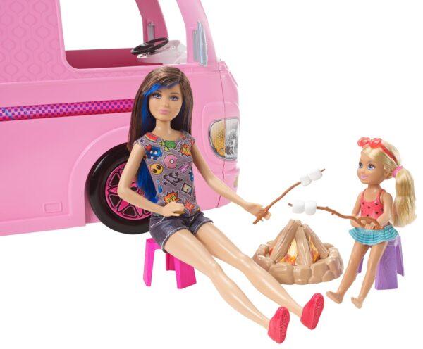 ALTRI Camper dei sogni Barbie 12-36 Mesi, 12+ Anni, 3-5 Anni, 5-8 Anni, 8-12 Anni Femmina