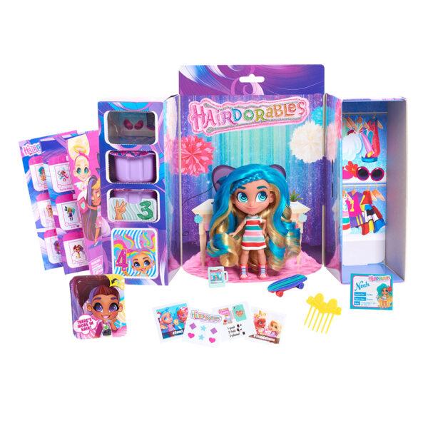Hairdorables Bambole Stilose con Capelli Lucenti e Colorati - Altro - Toys Center ALTRI Femmina 12-36 Mesi, 12+ Anni, 3-5 Anni, 5-8 Anni, 8-12 Anni ALTRO