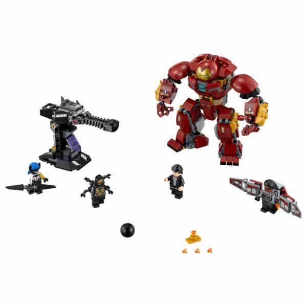Marvel Avengers 76104 - Duello con l'Hulkbuster Maschio 12+ Anni, 5-8 Anni, 8-12 Anni