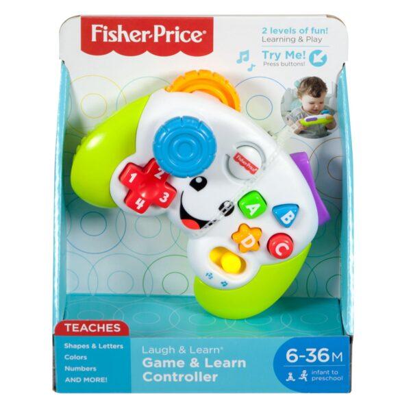 Fisher-Price Controller Ridi e Impara, Insegna Forme e Colori, Giocattolo per Bambini 6+ Mesi 0-12 Mesi, 12-36 Mesi Unisex FISHER-PRICE ALTRI