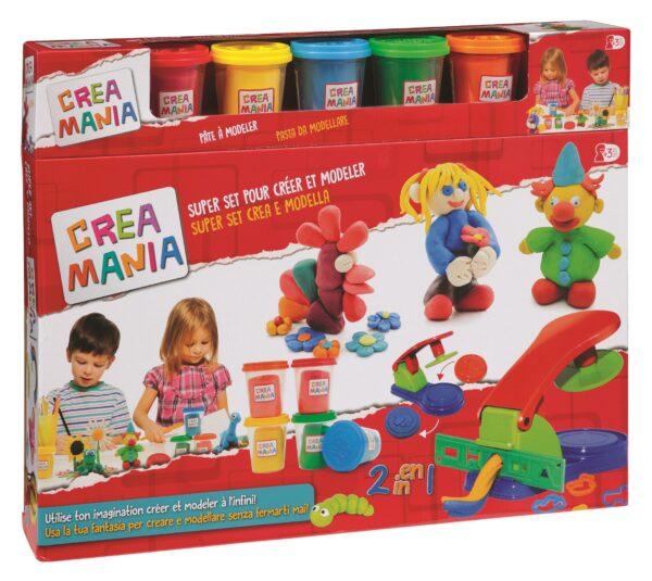 CREAMANIA Super set creativo CREAMANIA UNISEX Unisex 12-36 Mesi, 3-4 Anni, 3-5 Anni, 5-7 Anni, 5-8 Anni ALTRI