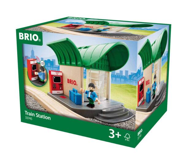 BRIO stazione dei treni BRIO Unisex 12-36 Mesi, 3-4 Anni, 3-5 Anni, 5-7 Anni, 5-8 Anni ALTRI