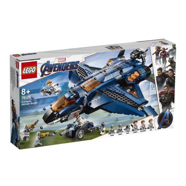 76126 - L'Ultimate Quinjet degli Avengers - Lego Super Heroes - Toys Center - LEGO SUPER HEROES - Costruzioni
