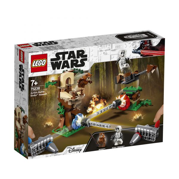 75238 - Action Battle - Assalto a Endor™ Disney Unisex 12+ Anni, 3-5 Anni, 5-8 Anni, 8-12 Anni Star Wars