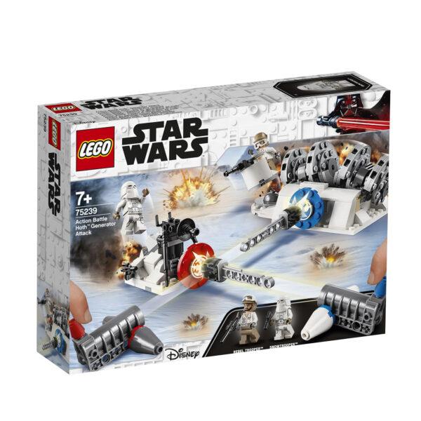 75239 - Action Battle - Attacco al generatore di Hoth™ Disney Unisex 12+ Anni, 3-5 Anni, 5-8 Anni, 8-12 Anni Star Wars