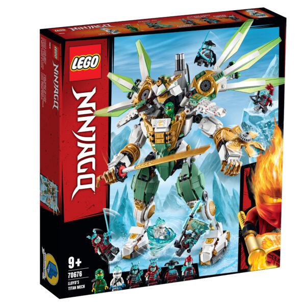 LEGO NINJAGO Il Mech Titano di Lloyd - 70676