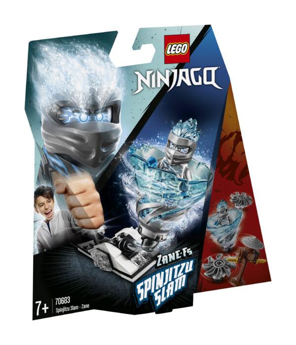 LEGO NINJAGO Slam Spinjitzu - Zane - 70683
