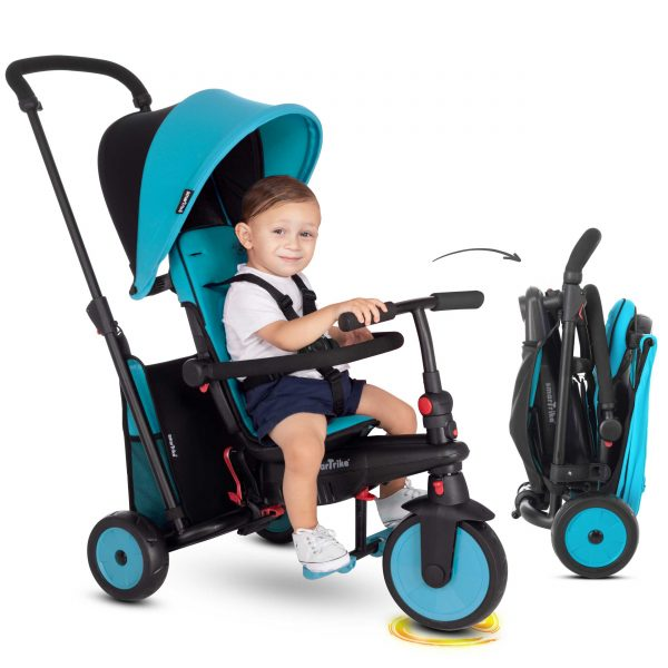 SMART TRIKE STR3 FOLDING 6 IN 1 BLU - SMART TRIKE - Marche - SMART TRIKE