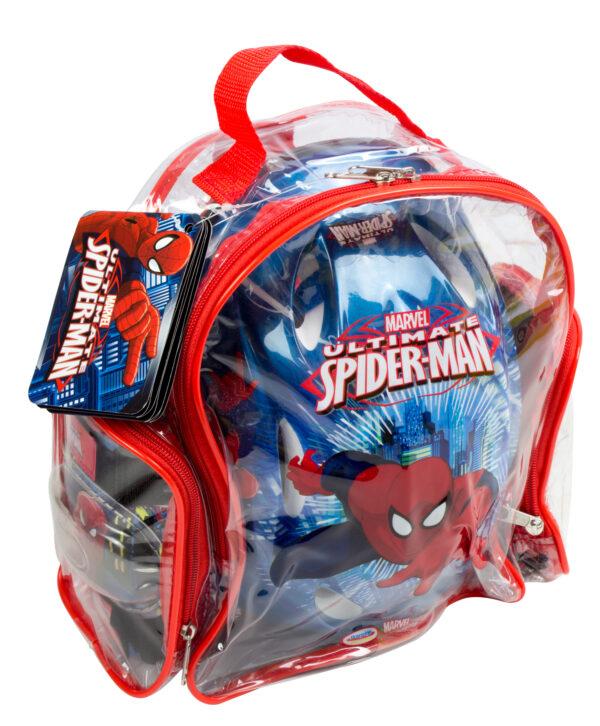 ZAINO CASCO E PROTEZIONI SPIDERM - MARVEL - Marche Maschio 3-5 Anni, 5-8 Anni Spiderman Marvel