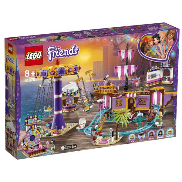 LEGO Friends Il molo dei divertimenti di Heartlake City - 41375