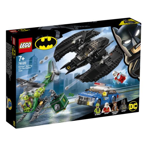 LEGO Batman Bat-aereo di e la rapina dell'Enigmista - 76120