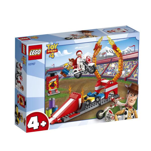 10767 - Le acrobazie di Duke Caboom - Lego Juniors - Toys Center LEGO JUNIORS Unisex 12+ Anni, 3-5 Anni, 5-8 Anni, 8-12 Anni ALTRI