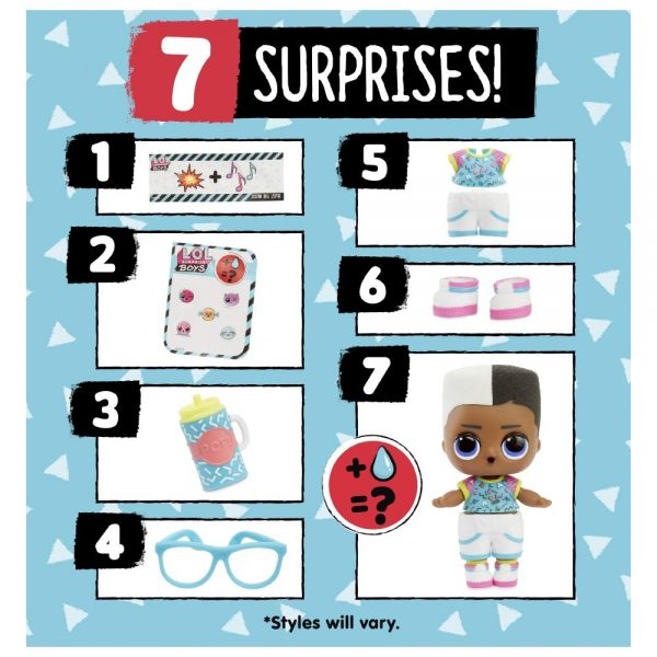 LOL SURPRISE BOYS LOL 12+ Anni, 5-8 Anni, 8-12 Anni Femmina