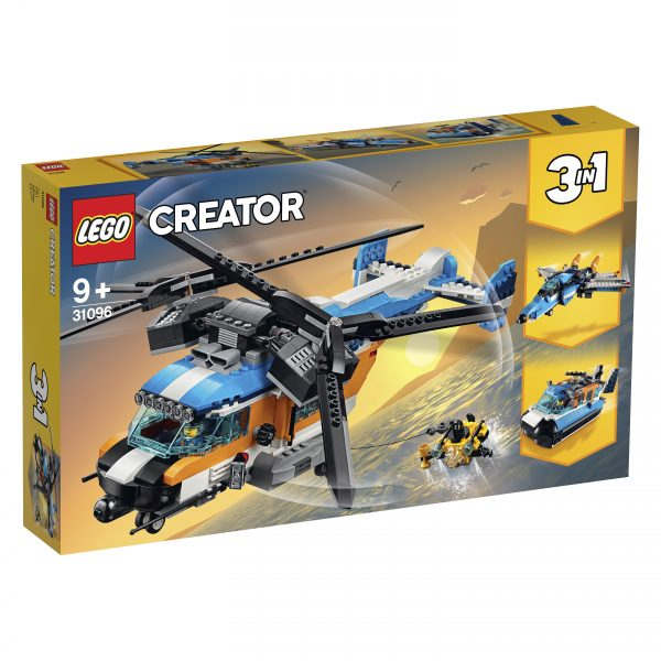 31096 - Elicottero Bi-Rotore - LEGO Creator