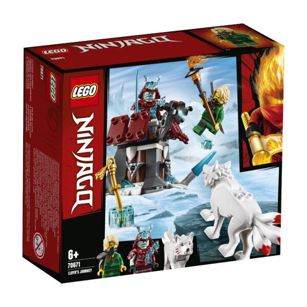 LEGO NINJAGO Il viaggio di Lloyd - 70671