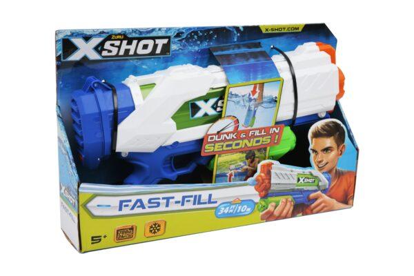 X-SHOT FAST FILL - Altro - Toys Center ALTRO Unisex 12+ Anni, 3-5 Anni, 5-8 Anni, 8-12 Anni ALTRI