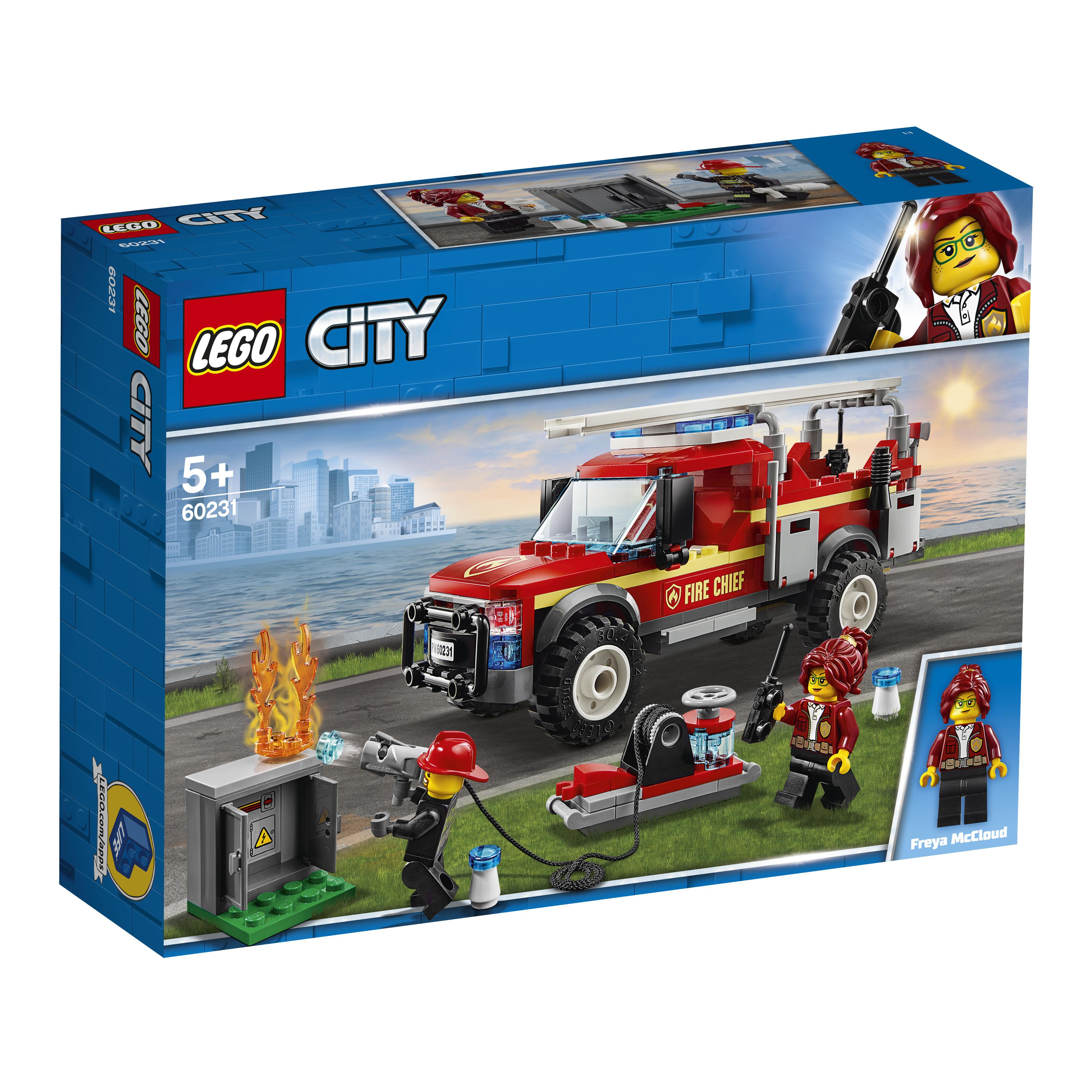 spend pardon Flight  LEGO City Fuoristrada dei Vigili del Fuoco - 60231 - Toys Center