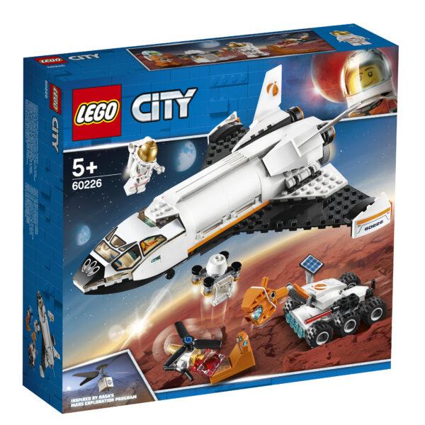 LEGO City Shuttle di ricerca su Marte - 60226