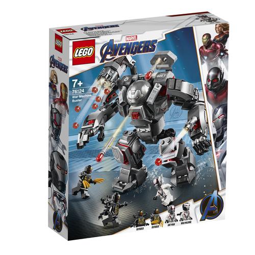 LEGO Marvel Avengers War Machine Buster - 76124