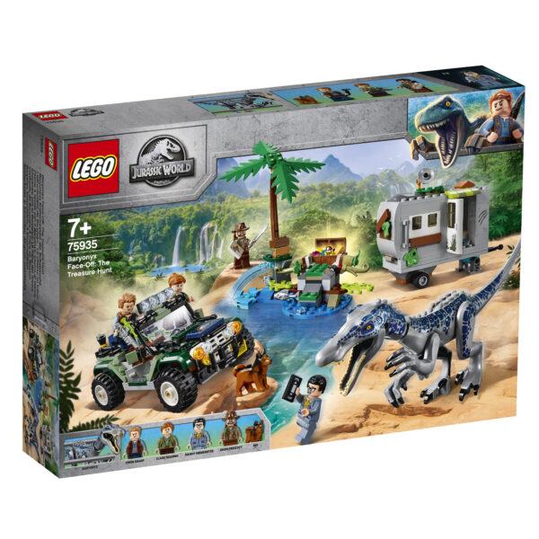 LEGO Jurassic World Faccia a faccia con il Baryonyx: caccia al tesoro - 75935
