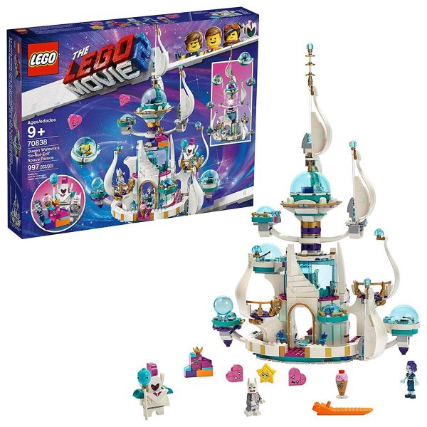 Lego Movie - Regina Wello Ke Wuoglio e il Palazzo Spaziale Mezzo Malvagio, 70838
