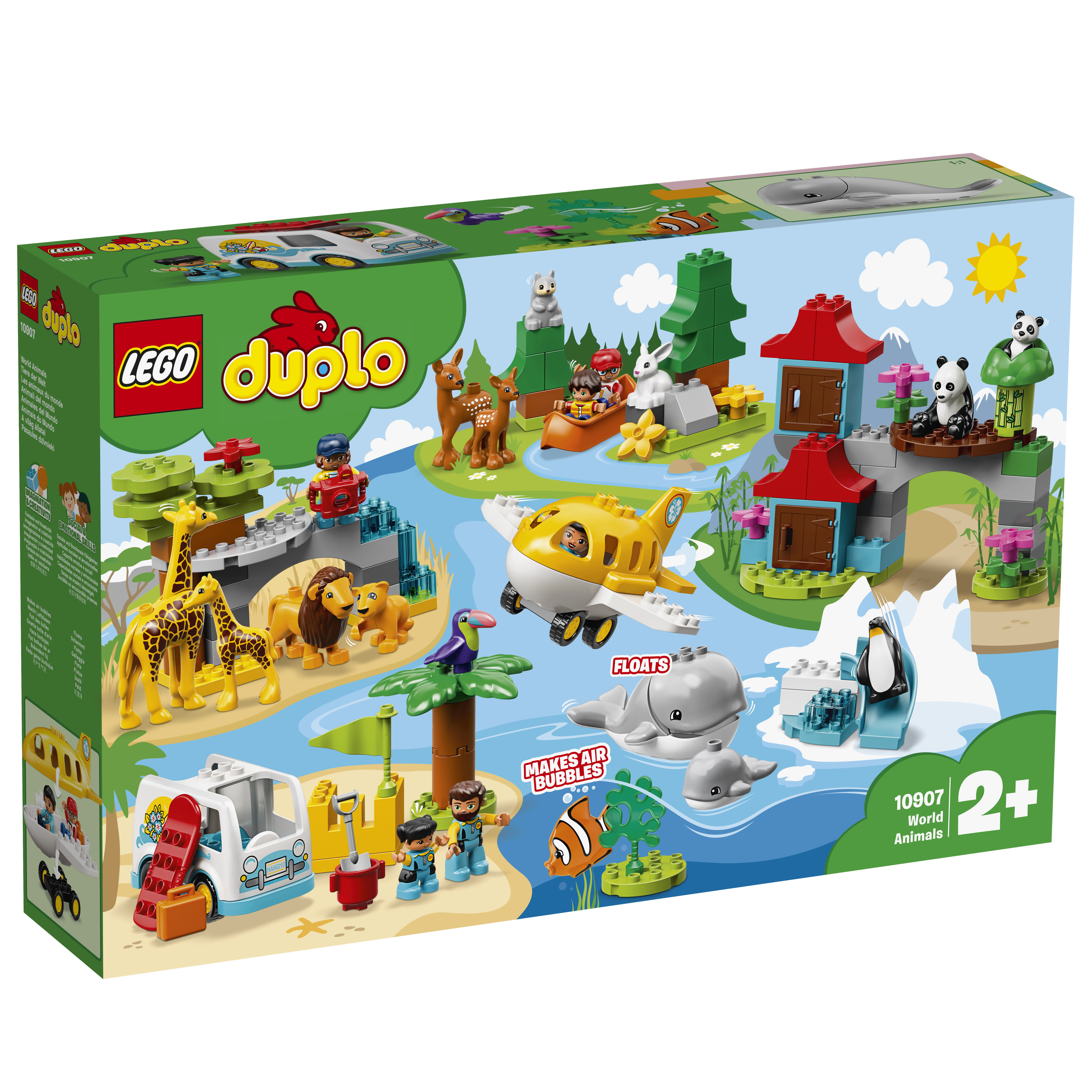 disease Couple sacred  LEGO DUPLO Animali del mondo - 10907 - Toys Center