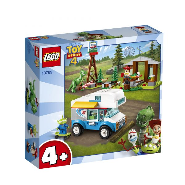 10769 - Toy Story 4 - Vacanza in Camper - Lego Juniors - Toys Center LEGO JUNIORS Unisex 12+ Anni, 3-5 Anni, 5-8 Anni, 8-12 Anni ALTRI