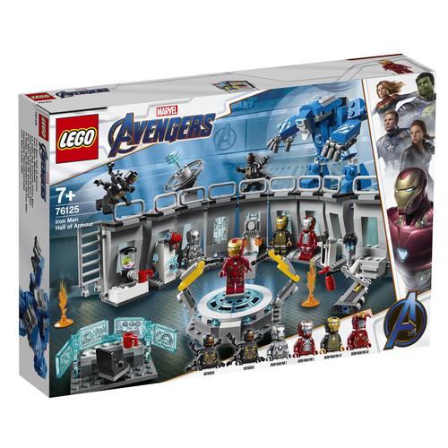 Sala LEGO Marvel Avengers Sala delle Armature di Iron Man - 76125