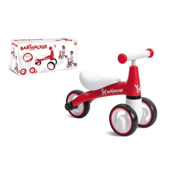 TRICICLO BABY WALKER ROSSO - Altro - Toys Center ALTRO Femmina 12-36 Mesi, 3-5 Anni, 5-8 Anni ALTRI