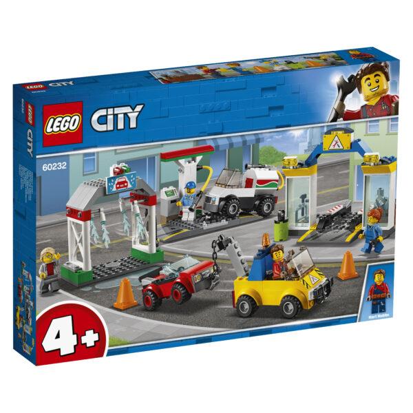 LEGO City Stazione di servizio e officina - 60232
