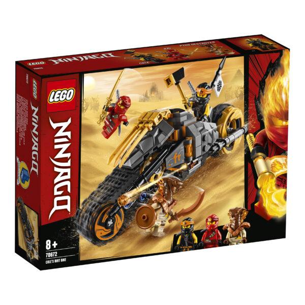 LEGO NINJAGO La moto da cross di Cole - 70672