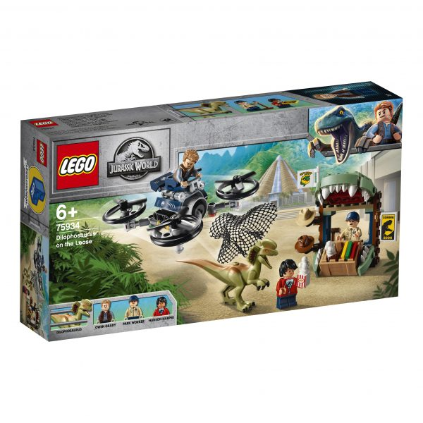 LEGO Jurassic World Dilofosauro in fuga - 75934