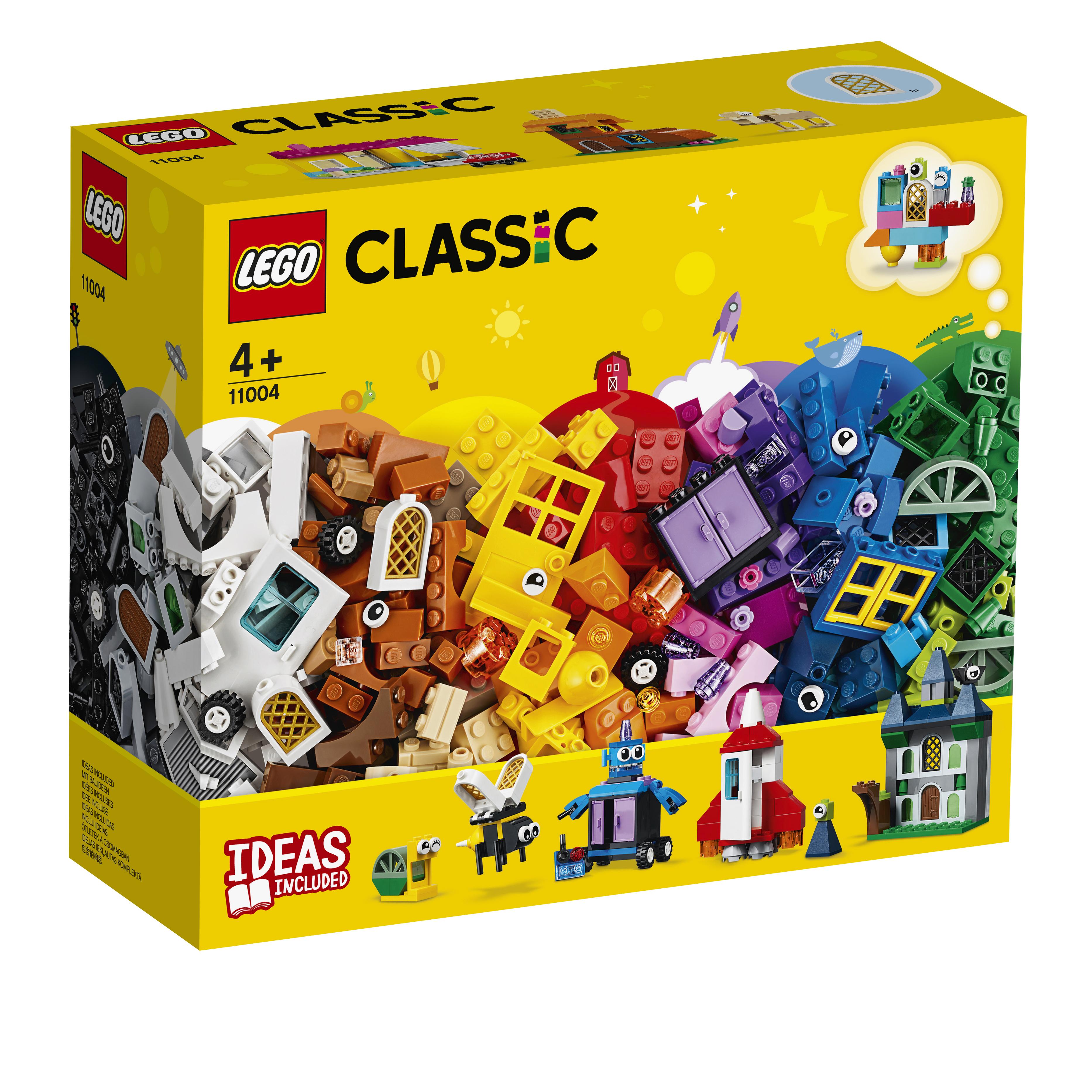 Pine fort our  LEGO Classic Le finestre della creatività - 11004 - Toys Center