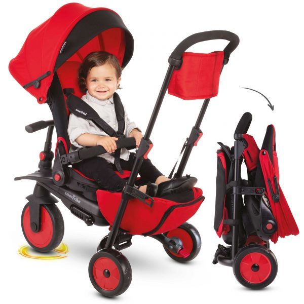 SMART TRIKE STR7 FOLDING 8 IN 1 ROSSO - SMART TRIKE - Marche SMART TRIKE Unisex 0-12 Mesi, 12-36 Mesi, 3-5 Anni ALTRI