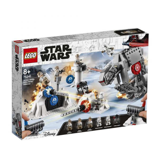 75241 - Action Battle - Difesa della Echo Base™ Disney Unisex 12+ Anni, 3-5 Anni, 5-8 Anni, 8-12 Anni Star Wars