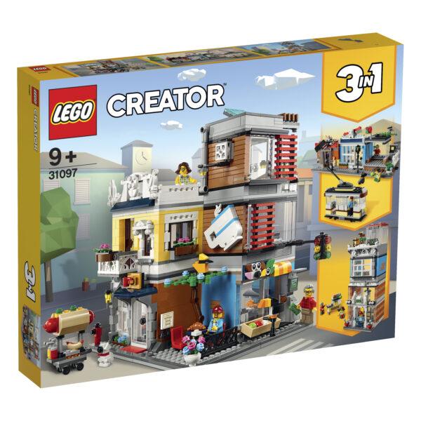 LEGO CREATOR 31097 - Negozio degli Animali & Café