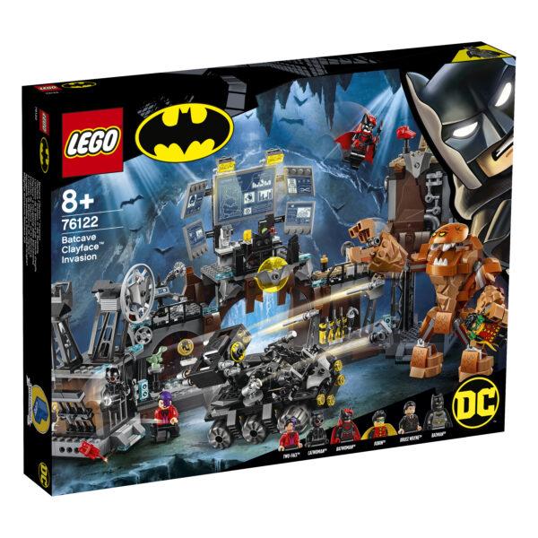 LEGO Batman Clayface e l'invasione della bat-caverna - 76122