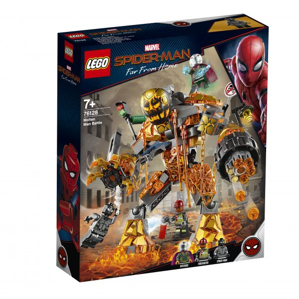 LEGO 76128 - La battaglia di Molten
