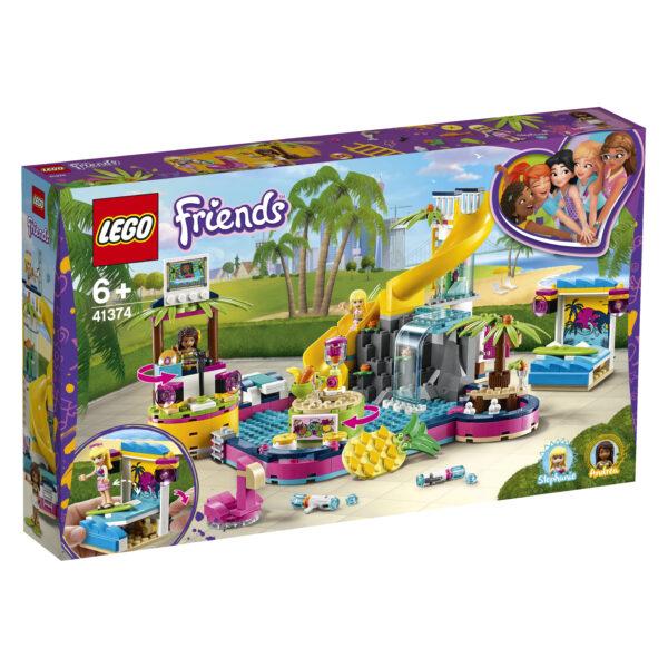 LEGO Friends La festa in piscina di Andrea - 41374