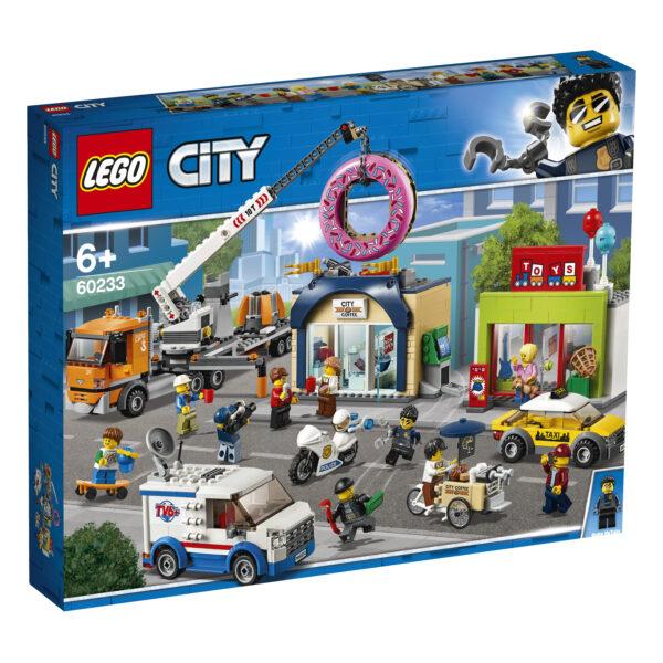 LEGO City Inaugurazione della ciambelleria - 60233