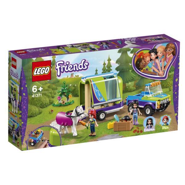 LEGO Friends Il rimorchio dei cavalli di Mia - 41371